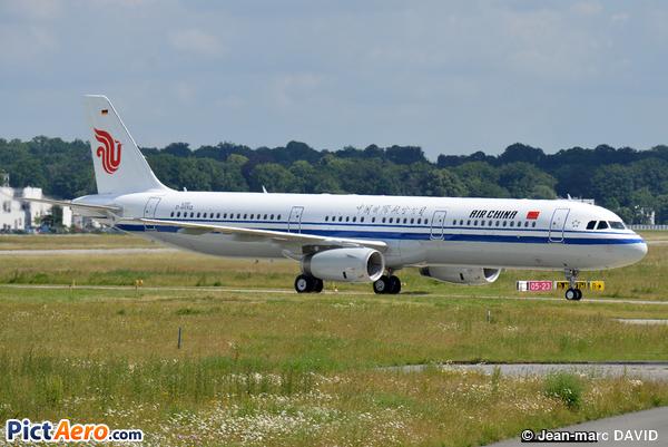 Airbus A321-231/WL (Air China)