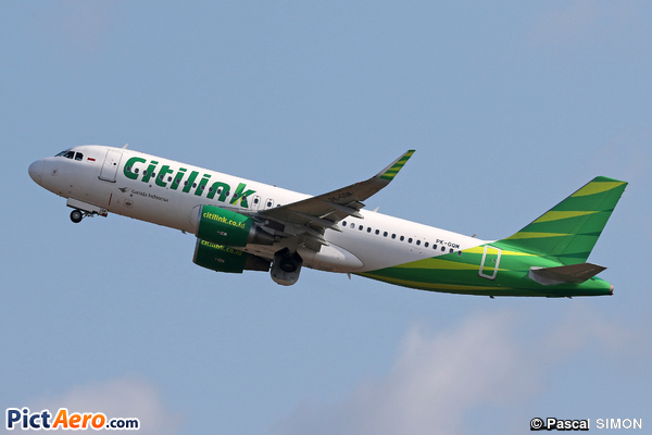 Airbus A320-214 (WL) (Citilink Airlines)