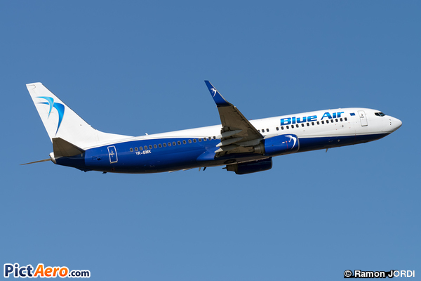 Boeing 737-82R/WL (Blue Air)