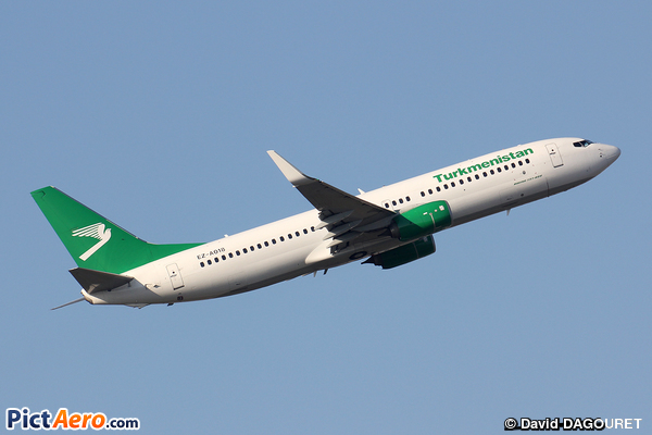 Boeing 737-82K/WL (Turkmenistan Airlines)