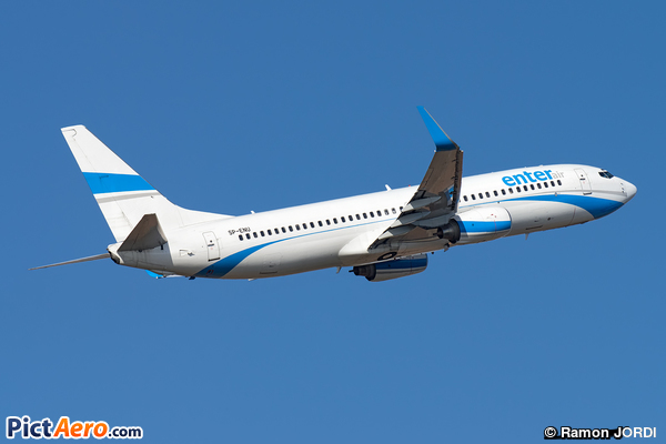 Boeing 737-83N/WL (Enter Air)