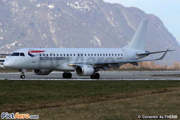 Embraer ERJ-190-100LR 190LR  (BA CityFlyer)