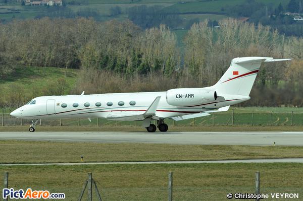 Gulfstream G550 (Morroco - Government)