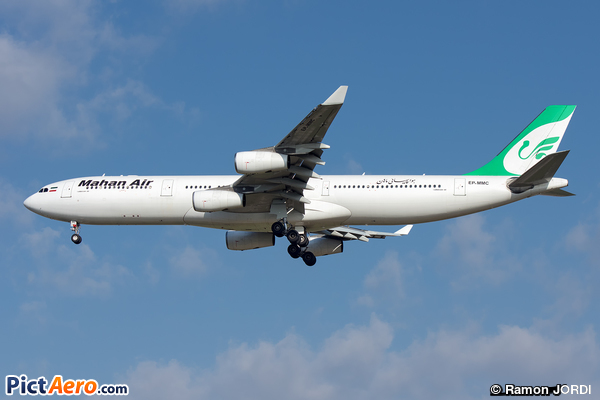 Airbus A340-313 (Mahan Air)