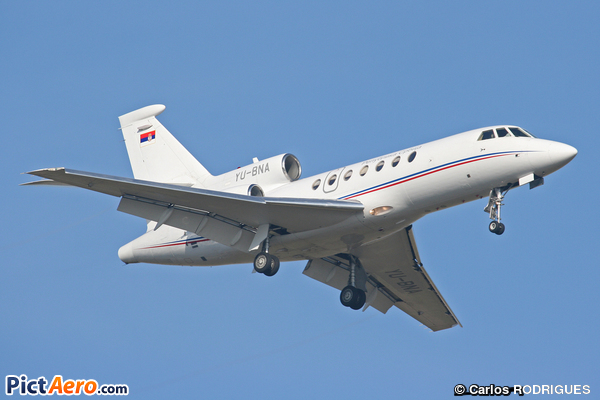 Dassault Falcon 50 (Serbia and Montenegro - Air Force)