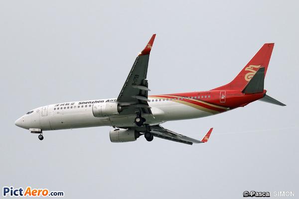 Boeing 737-87L/WL (Shenzhen Airlines)