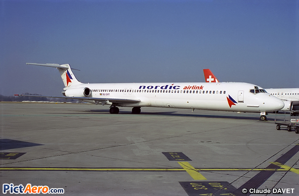 McDonnell Douglas MD-81 (DC-9-81) (FlyNordic)