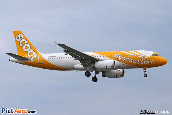 Airbus A320-232 (Scoot Airways)