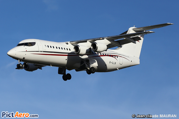 British Aerospace Avro 146-RJ85  (Cello Aviation)