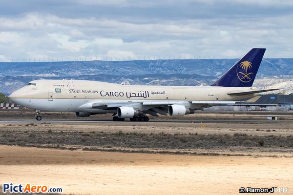 Boeing 747-412/BDSF (Saudi Arabian Airlines Cargo)