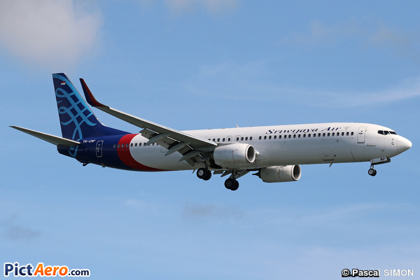 Boeing 737-9LF/ER (Sriwijaya Air)