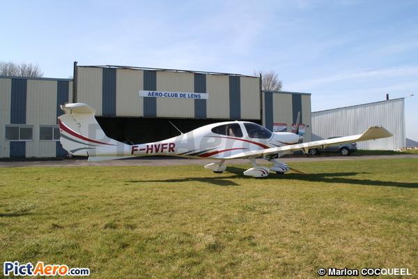 Diamond DA-40D Star TDI (Aéroclub de Lens)