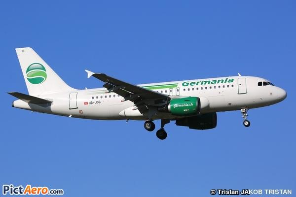 Airbus A319-112 (Germania Flug AG)