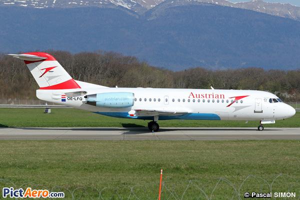 Fokker 70 (F-28-0070) (Austrian arrows)