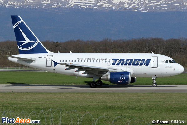 Airbus A318-111 (Tarom - Romanian Air Transport)