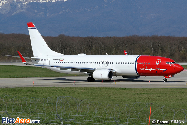 Boeing 737-8JP/WL (Norwegian Air Shuttle)