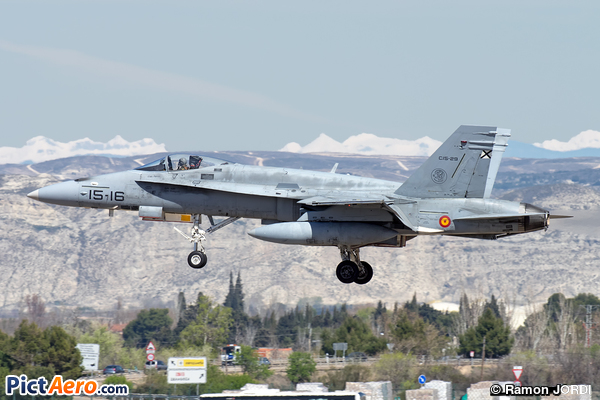 McDonnell Douglas EF-18A Hornet (Spain - Air Force)