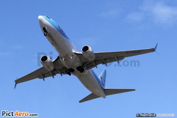 Boeing 737-8K5/WL (Thomsonfly)