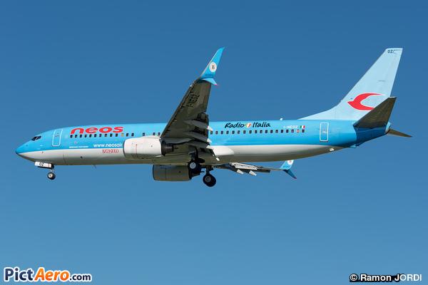 Boeing 737-86N/WL (Neos)