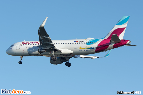 Airbus A320-214/WL  (Eurowings)