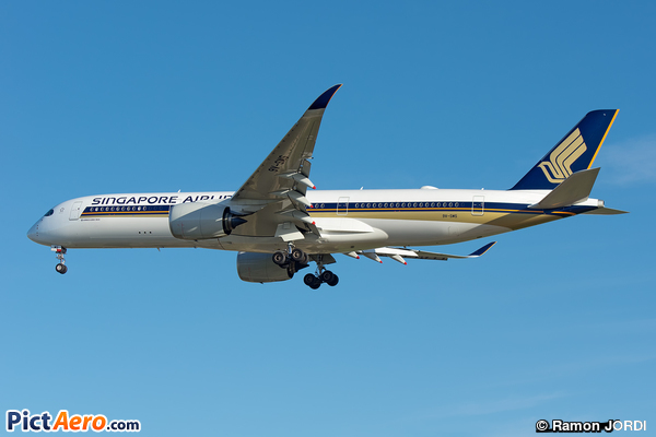 Boeing 747-412 (Singapore Airlines)