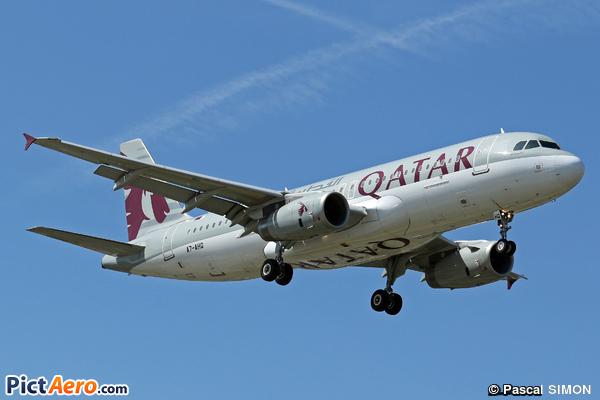 Airbus A320-232 (Qatar Airways)