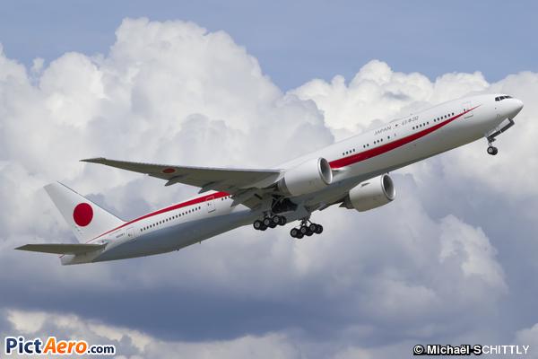 Boeing 777-3SB/ER (Japan - Air Self-Defense Force (JASDF))