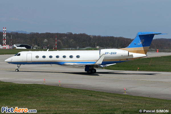 Gulfstream Aerospace G-550 (G-V-SP) (Eiger Jet)