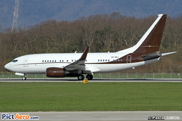 Boeing 737-7BC/BBJ (PrivaJet Ltd)