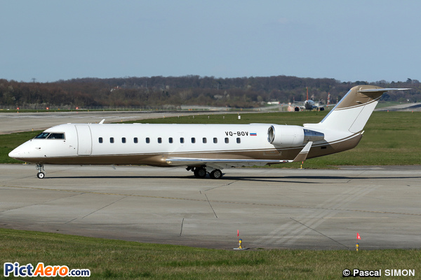 Bombardier Challenger 850 (Canadair CL-600-2B19 Challenger 850) (Rusline)