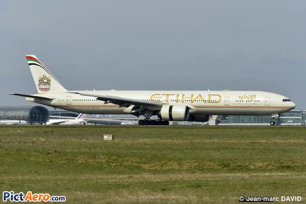 Boeing 777-3FX/ER (Etihad Airways)