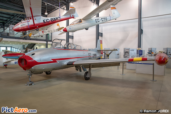 Hispano HA-100/200/220 Saeta/Super Saeta (Fundacio Parc Aeronautic de Catalunya)