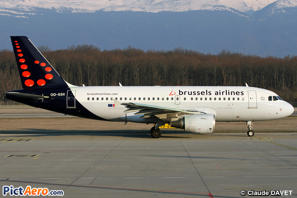 Airbus A319-111 (Brussels Airlines)