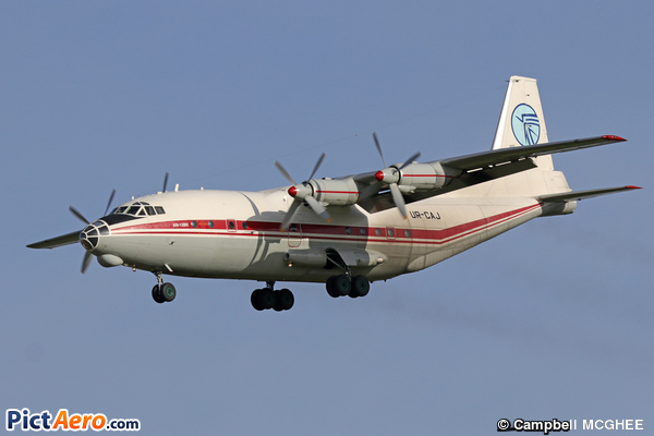 Antonov An-12BK (Ukraine Air Alliance (UAA))