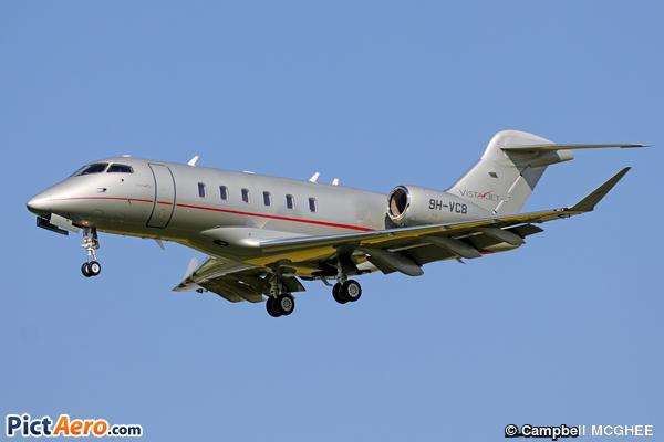 Bombardier BD-100-1A10 Challenger 350 (VistaJet Ltd Malta)