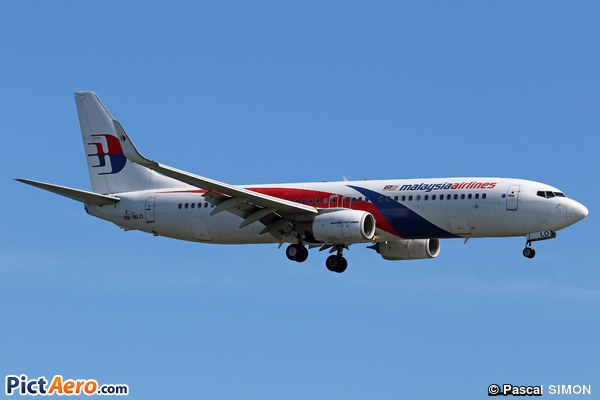 Boeing 737-8H6/WL (Malaysia Airlines)