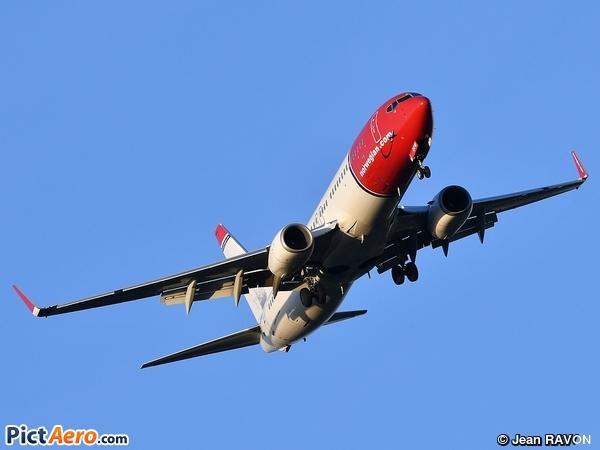 Boeing 737-8JP/WL (Norwegian Air Shuttle)