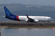 Boeing 737-8Q8/WL (PK-CMH)