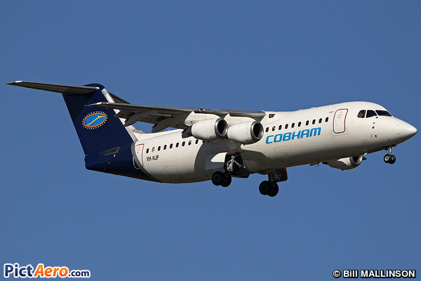 British Aerospace Avro RJ100 (Cobham Aviation Services)