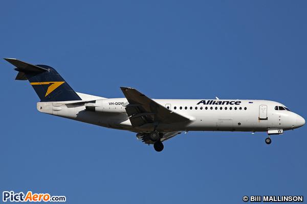 Fokker 70 (F-28-0070) (Alliance Airlines)