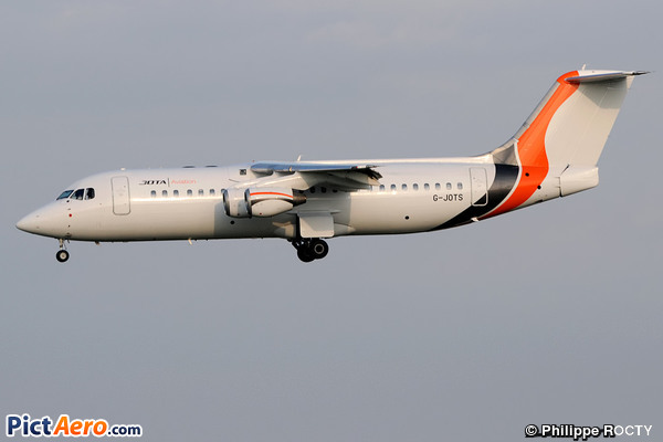 BAe 146-RJ100 (JOTA Aviation)