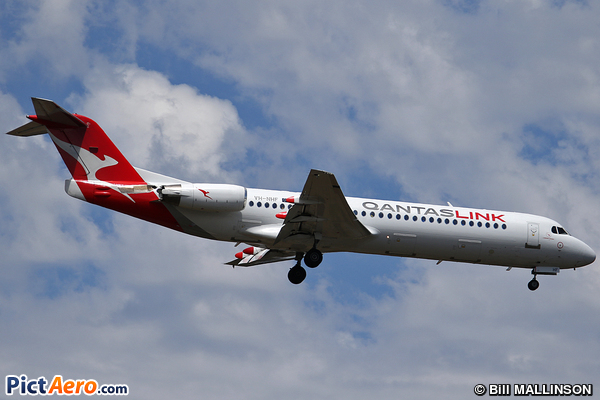 Fokker 100 (F-28-0100) (QantasLink (Network Aviation))