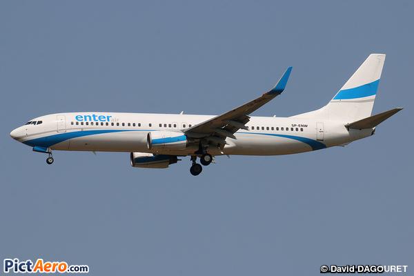 Boeing 737-86J/WL (Enter Air)