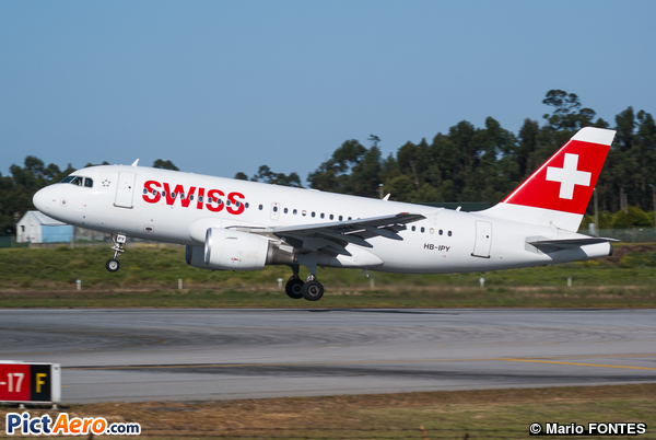 Airbus A319-112 (Swiss International Air Lines)