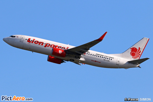 Boeing 737-8GP/WL (Lion Air)