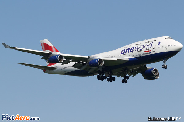 Boeing 747-436 (British Airways)