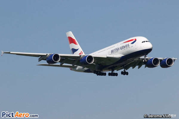 Airbus A380-841 (British Airways)