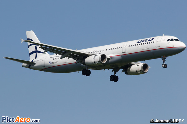 Airbus A321-232 (Aegean Airlines)