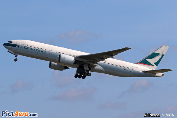 Boeing 777-267 (Cathay Pacific)