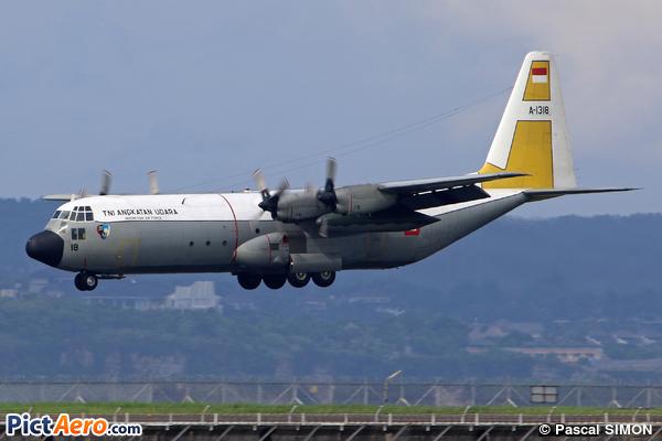 Lockheed C-130H-30 Hercules (L-382T) (Indonesia - Air Force)